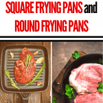 Square Cooking Pans vs Round Cooking Pans