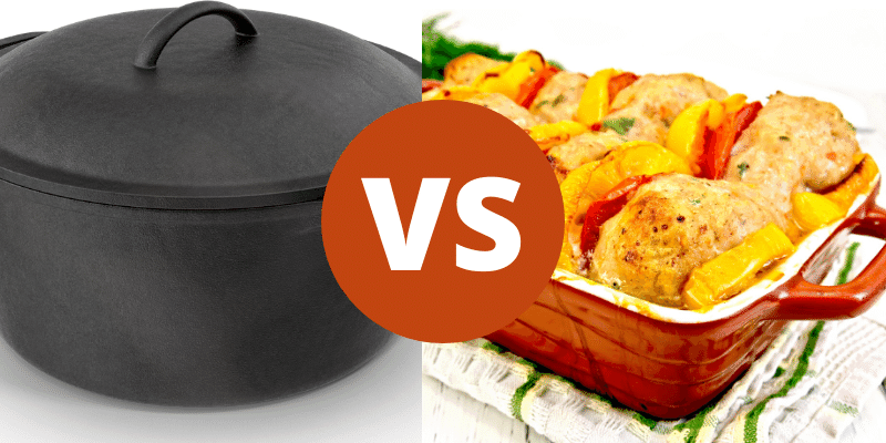 Dutch Oven Vs Roasting Pan Which Is Right For You World Of Pans