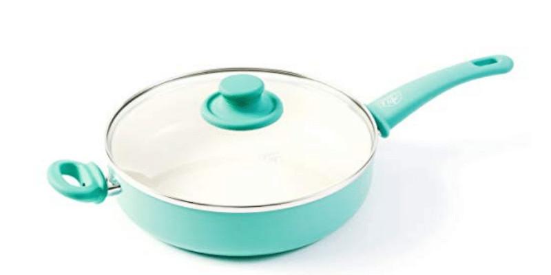 Greenlife Ceramic Nonstick, Sauté Pan With Lid Review