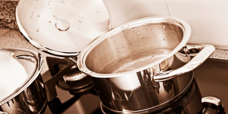 How Not to Burn Stainless Steel Pan