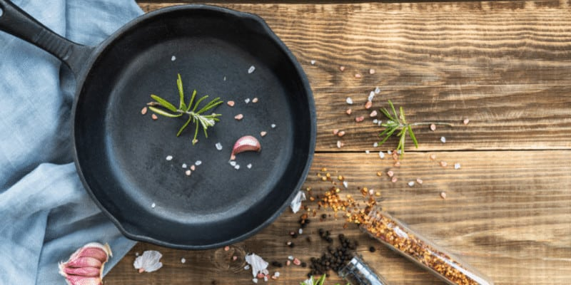How to Keep Food from Sticking to a Cast Iron Pans